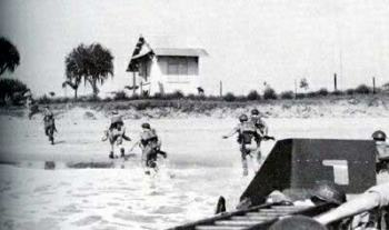Allied Forces land in Madagascar in 1942